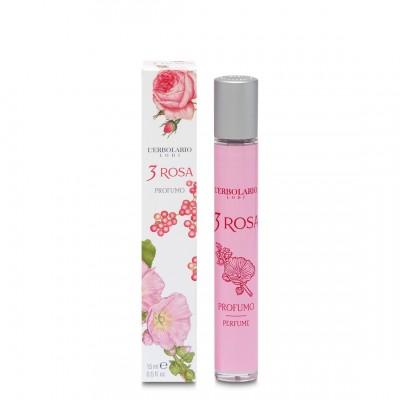 3 ROSA Eau de Parfum MINIATURFORMAT 15ml