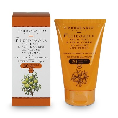 LSF 20 Anti-Aging Sonnenfluid für Gesicht & Körper 125 ml
