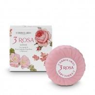 3 ROSA Parfüm Seife 100 g