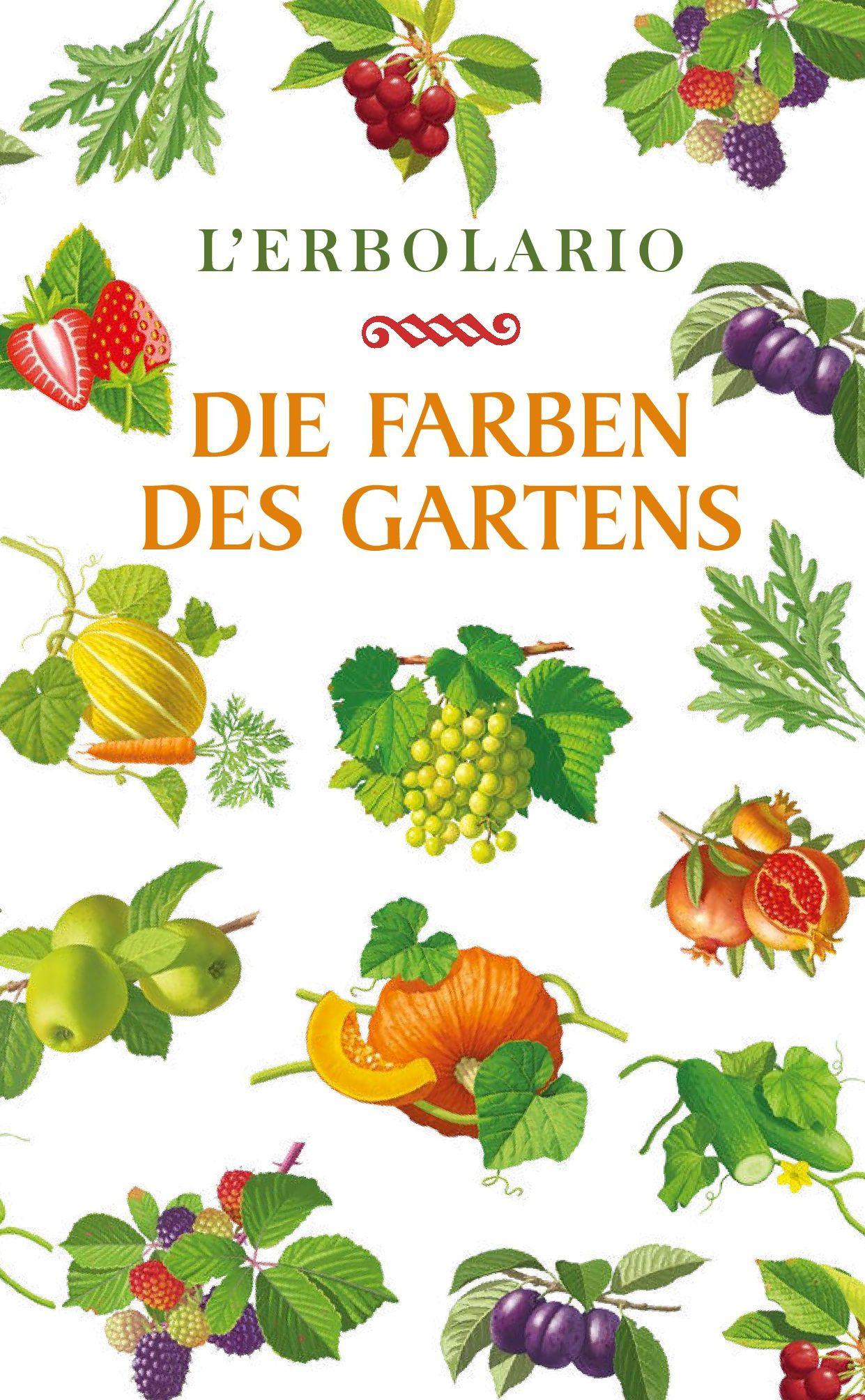 Broschüre die Farben des Gartens